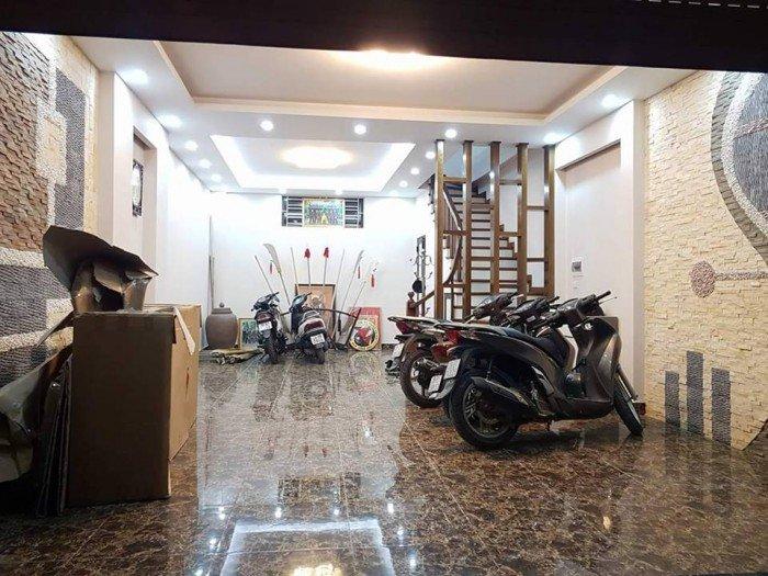 Vip -  bán gấp nhà Lê Trọng Tấn 53m2, 5 tầng phân lô, ô tô vào nhà