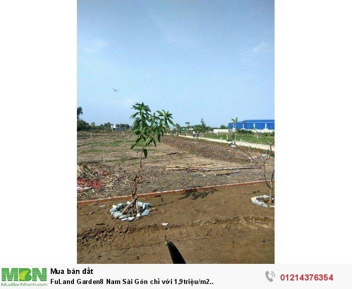 FuLand Garden8 Nam Sài Gòn chỉ với 1,9triệu/m2..