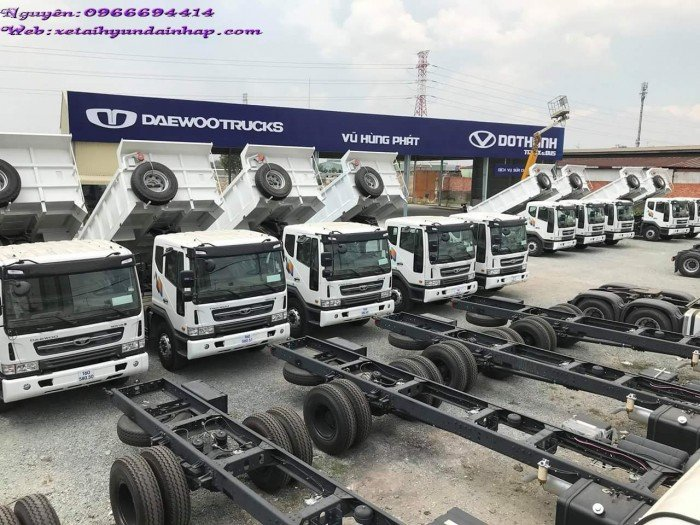 Xe tải Daewoo 9 tấn 2 chân Prima