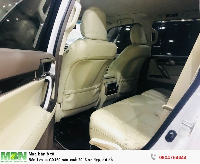 Bán Lexus GX460 sản xuất 2016 xe đẹp, đủ đồ