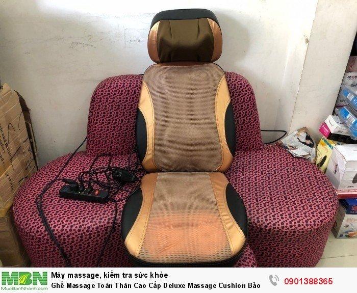 Đệm massage toàn thân Deluxe massage Cushion – đệm mát xa hồng ngoại thiết kế gi�...