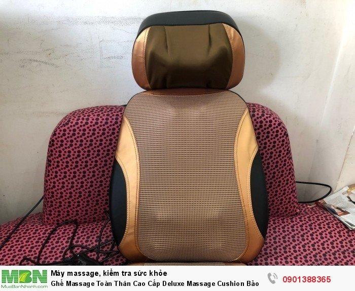 Ghế Massage Toàn Thân Cao Cấp Deluxe Massage Cushion Bảo Hành 2 Năm - MSN3883281