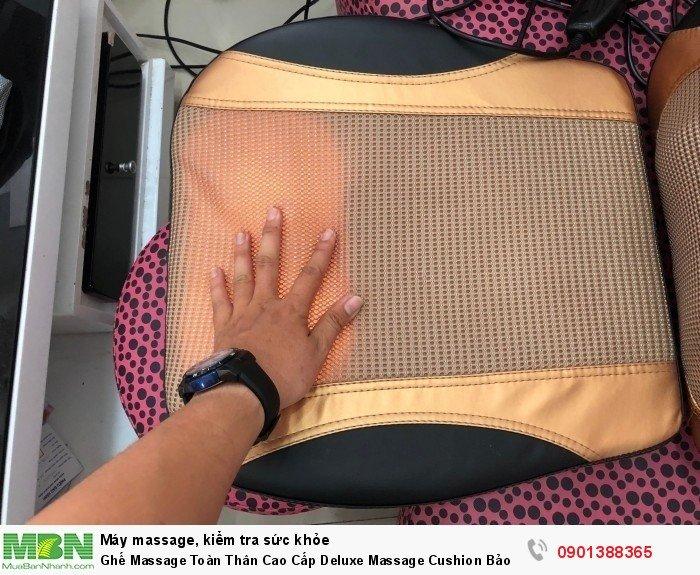 Ghế massage toàn thân Deluxe massage cushion – đệm ghế massage bộ điều khiển thôn...