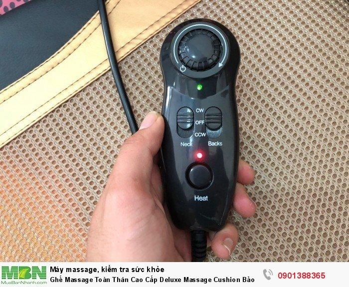 Ghế Massage Toàn Thân Cao Cấp Deluxe Massage Cushion Bảo Hành 2 Năm - MSN3883284