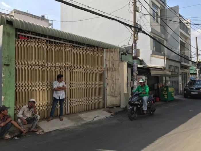 Nhà cho thuê đường Ung Văn Khiêm, p.25, Bình Thạnh dt 5,2x16m