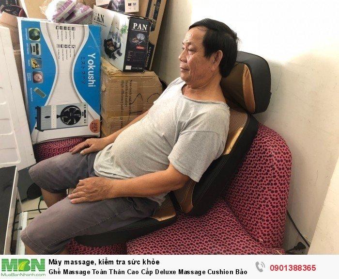Đệm massage toàn thân Deluxe massage Cushion tại Gia dụng Việt là thiết bị matxa cao...