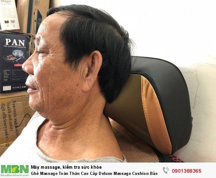 Ghế Massage Toàn Thân Cao Cấp Deluxe Massage Cushion Bảo Hành 2 Năm - MSN3883286