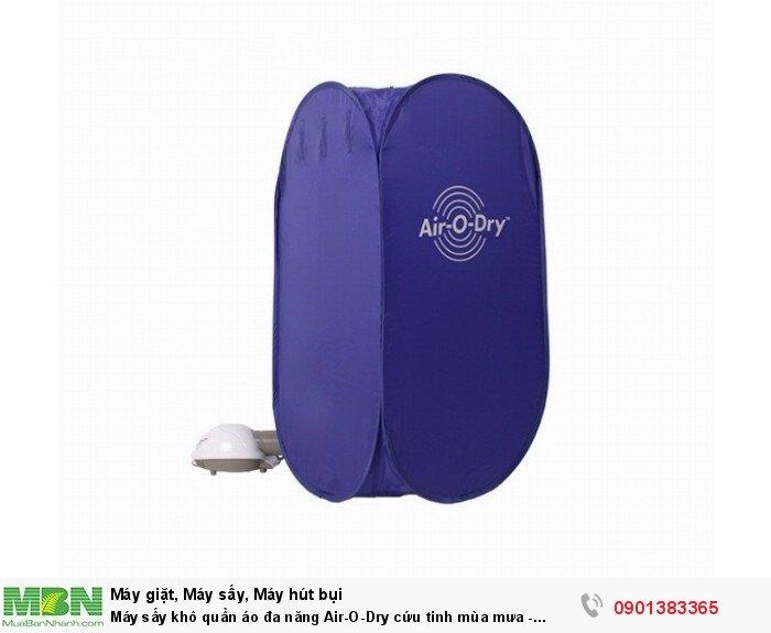 Thiết kế với kiểu dáng sang trọng, trang nhã, gọn nhẹ, có thể mang đi du lịch khi cần thiết. Air-O-Dry là sản phẩm tuyệt vời đối với những gia đình có em bé.