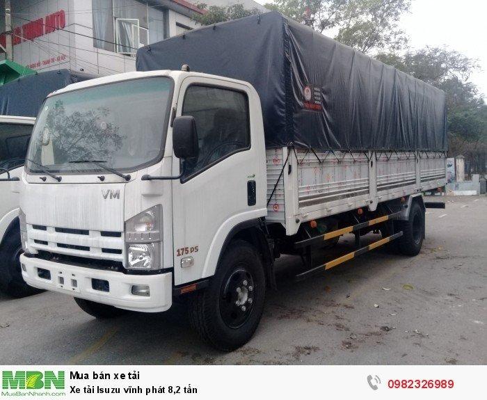 Xe tải Isuzu vĩnh phát 8,2 tấn