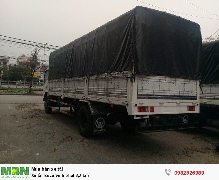 Xe tải Isuzu vĩnh phát 8,2 tấn 2