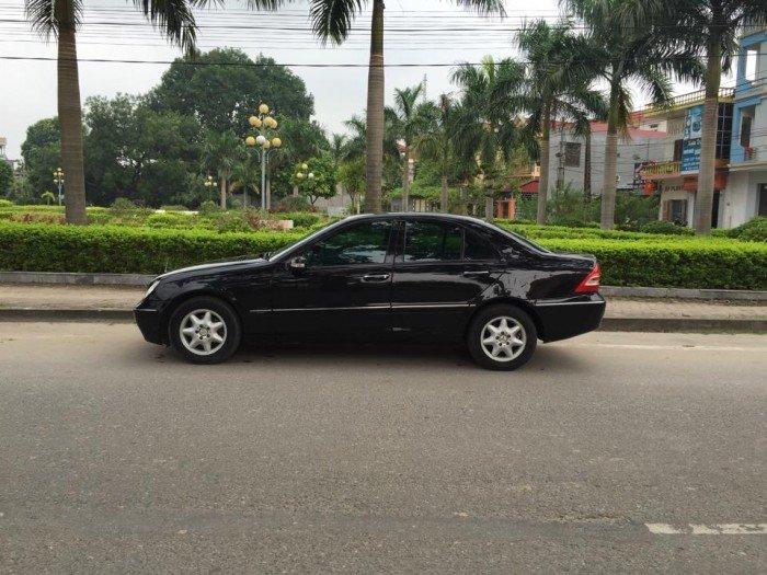 Mercedes-Benz C200 sản xuất năm 2003 Số tự động Động cơ Xăng