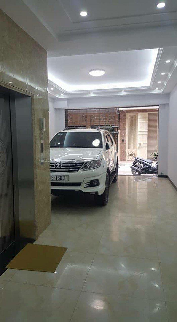 Bán nhà phân lô KD, ô tô đỗ Nguyễn Khang, thang máy, 6T x 72m, MT 5m giá 15 tỷ