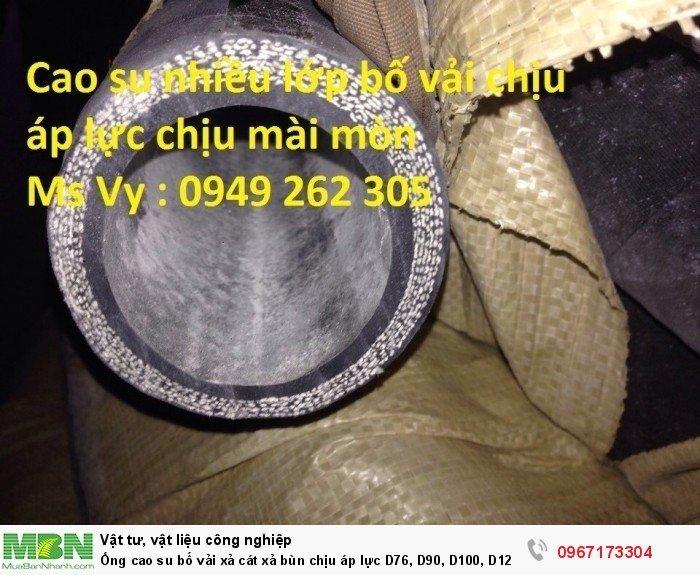 Ống cao su bố vải  D76, D90, D100, D120, D125, D150,.... D3002