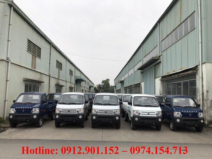 Xe Dongben 870kg- Xe tải  trả góp, hỗ trợ 90%, lãi suất thấp