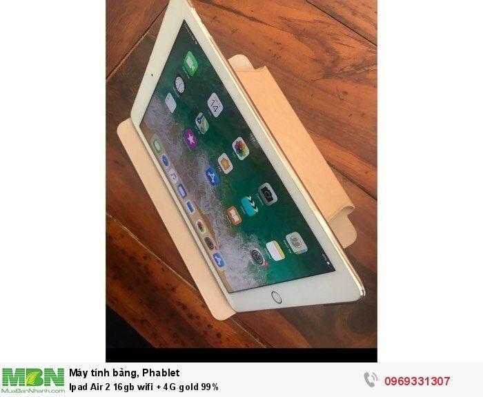 Ipad Air 2 16gb wifi + 4G gold 99%1