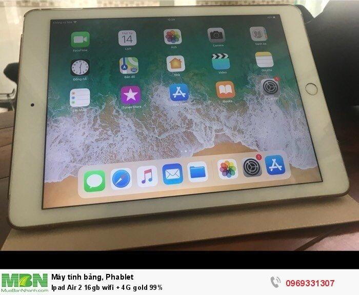 Ipad Air 2 16gb wifi + 4G gold 99%2