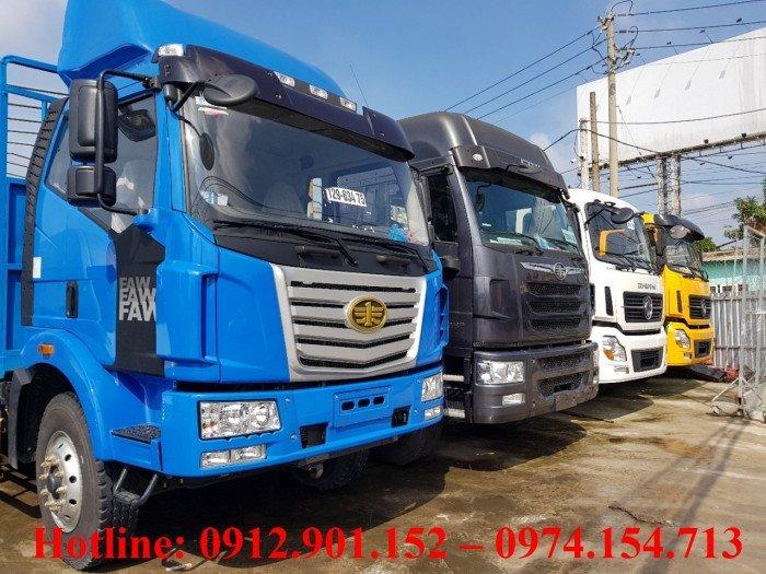 Giá Xe tải Faw 7t8 ( 7 tấn 8) thùng dài 9,8 mét  - Công ty  Ô Tô Phú Mẫn  chi nhánh Bình Dương