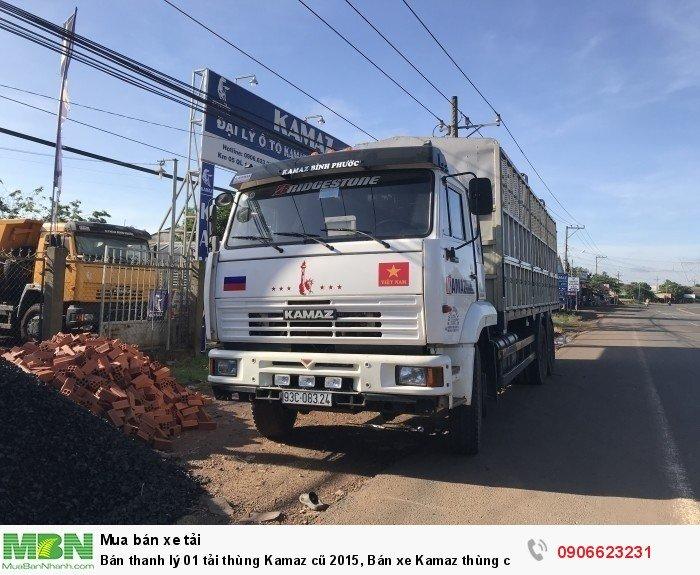 Bán thanh lý 01 tải thùng Kamaz cũ 2015, Bán xe Kamaz thùng cũ 1