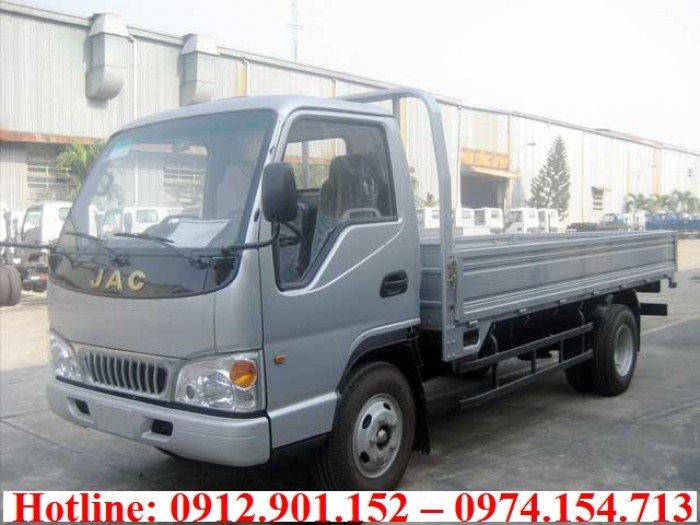 Jac 2T4 | Xe tải Jac 2.4 tấn thùng dài 3.7 mét được chạy vào thành phố