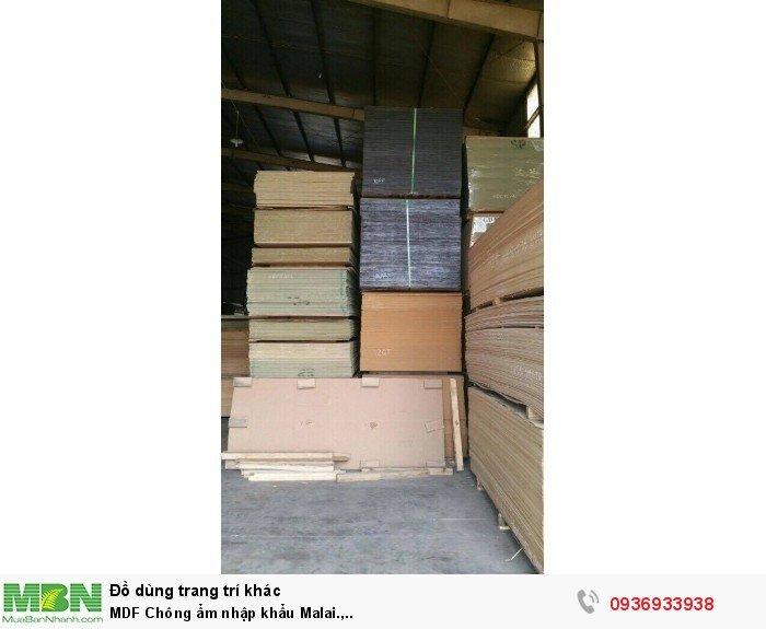 MDF Chông ẩm nhập khẩu Malai.,..2