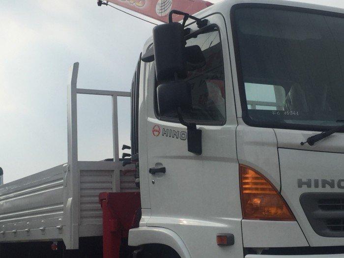 Xe tải Hino 6.4 tấn gắn cẩu Unic 3 tấn 4 khúc - Hỗ trợ vay cao, lãi suất ưu đãi nhất