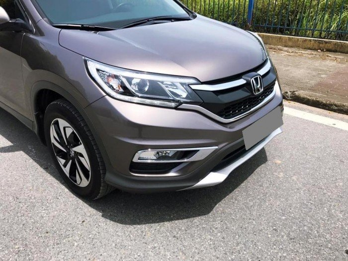 Kẹt tiền bán Honda CRV 2015 bản 2.4 màu titan cực chất đầy phong cách 5