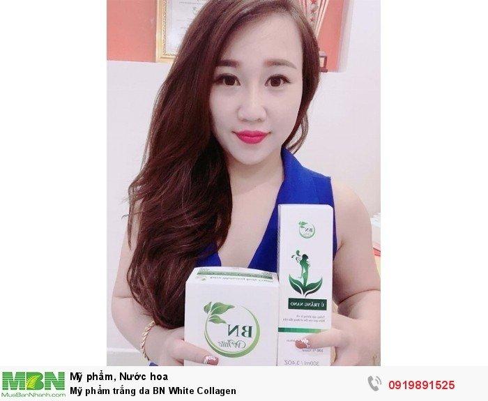 Mỹ phẩm trắng da BN White Collagen1