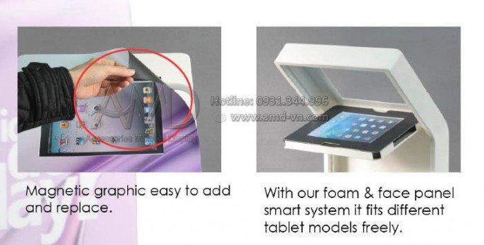 Giá đỡ ipad đa năng, giá đỡ máy tính bảng cao cấp Amd29