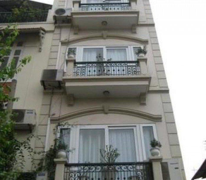Bán gấp nhà mặt tiền Huỳnh Tịnh Của, 10x24m,sổ hồng.