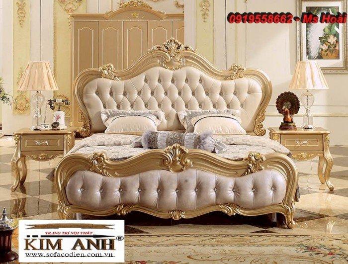 [14] Giường ngủ cổ điển TPHCM, bộ phòng ngủ cổ điên giá rẻ