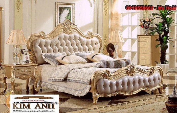[13] Giường ngủ cổ điển TPHCM, bộ phòng ngủ cổ điên giá rẻ