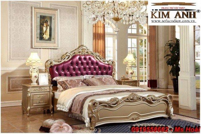 [11] Giường ngủ cổ điển TPHCM, bộ phòng ngủ cổ điên giá rẻ