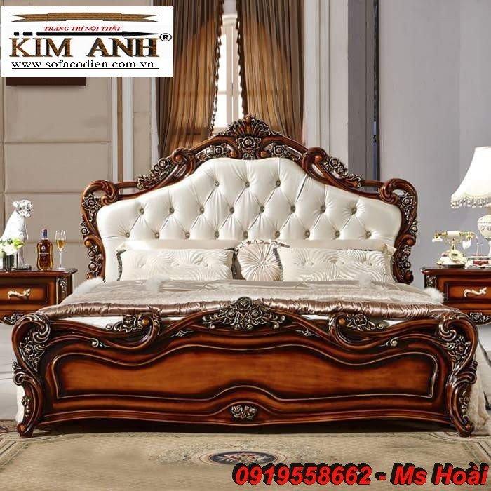 [8] Giường ngủ cổ điển TPHCM, bộ phòng ngủ cổ điên giá rẻ