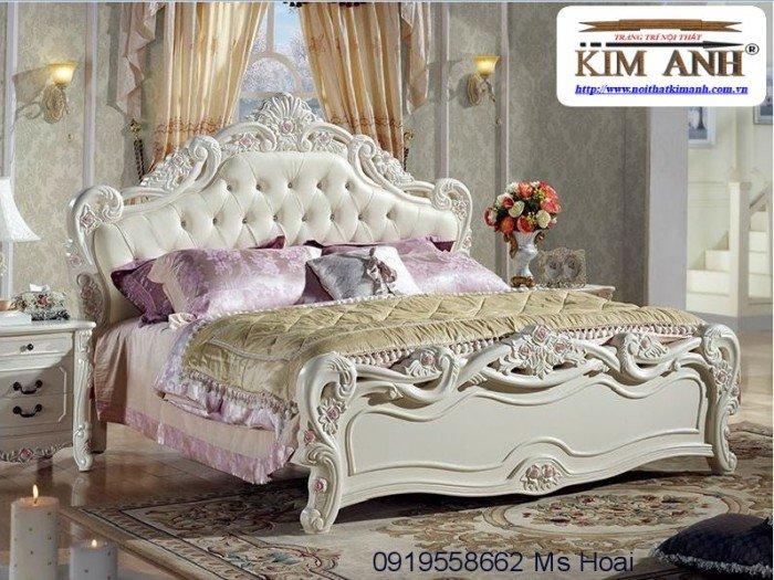 [6] Giường ngủ cổ điển TPHCM, bộ phòng ngủ cổ điên giá rẻ