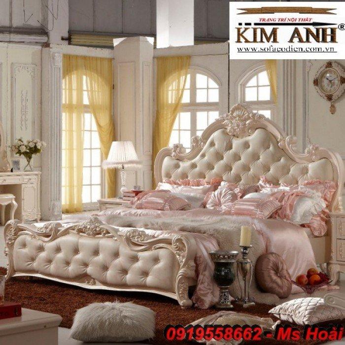 [5] Giường ngủ cổ điển TPHCM, bộ phòng ngủ cổ điên giá rẻ