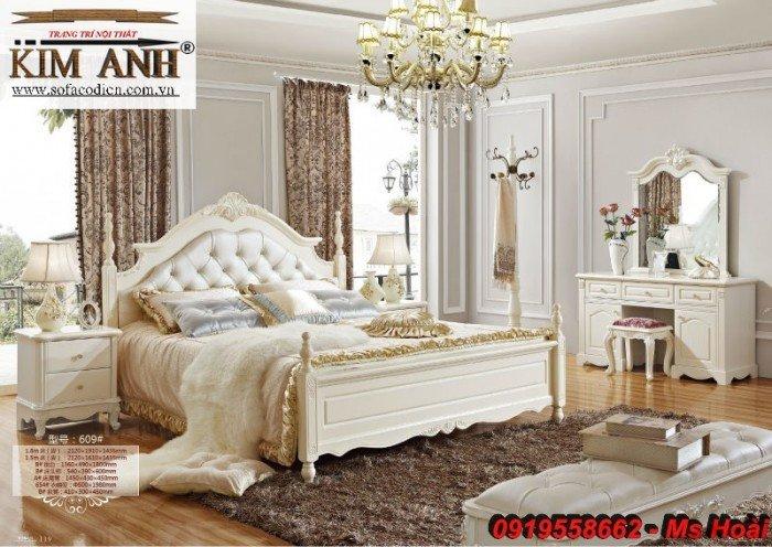[4] Giường ngủ cổ điển TPHCM, bộ phòng ngủ cổ điên giá rẻ