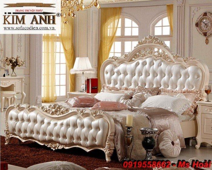 [2] Giường ngủ cổ điển TPHCM, bộ phòng ngủ cổ điên giá rẻ