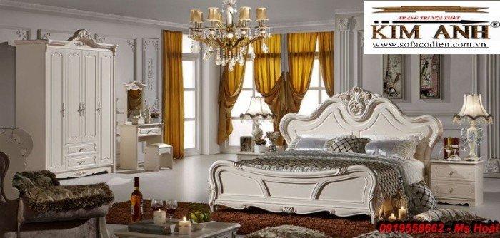 [1] Giường ngủ cổ điển TPHCM, bộ phòng ngủ cổ điên giá rẻ