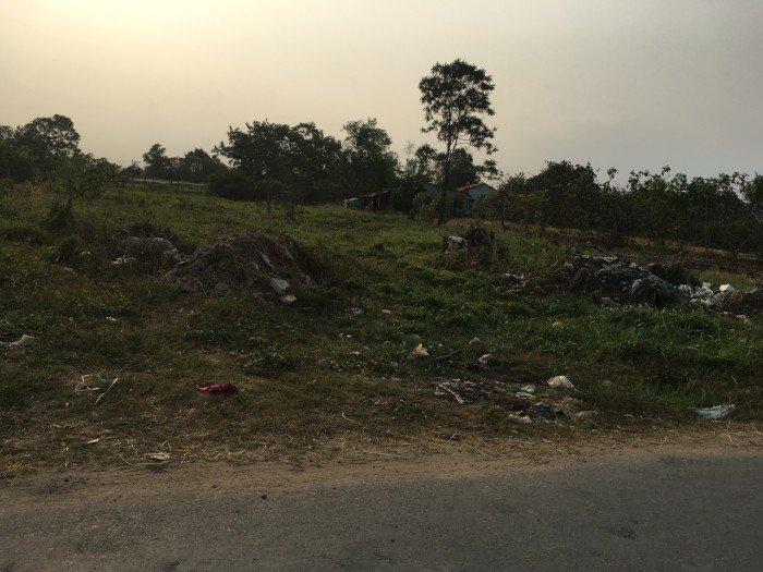 Đất mặt tiền đường Hóc Hưu, xã Quy Đức, Bình Chánh.