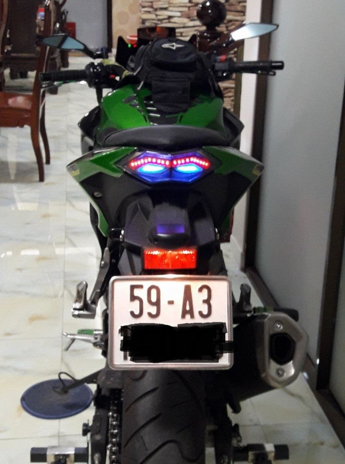 Kawasaki Z300 2017 7