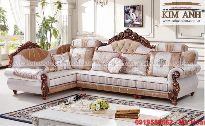 [14] Sofa tân cổ điển An Giang, ghế sofa cổ điển Cần Thơ giá rẻ