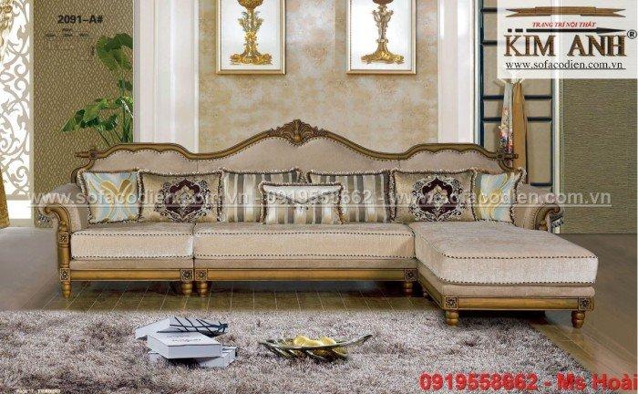 sofa cổ điển góc L9