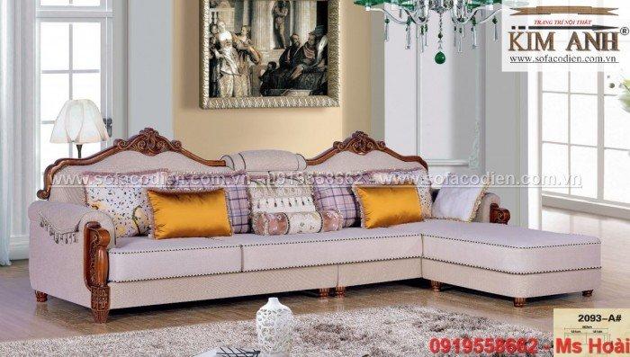 [9] Sofa tân cổ điển An Giang, ghế sofa cổ điển Cần Thơ giá rẻ