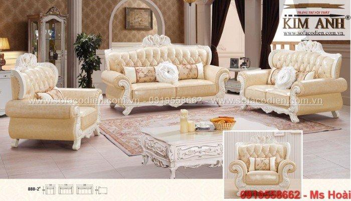 [6] Sofa tân cổ điển An Giang, ghế sofa cổ điển Cần Thơ giá rẻ