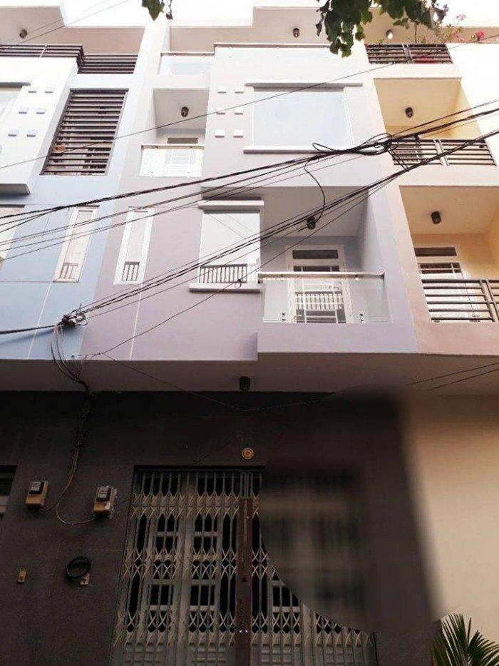Bán nhà  lầu hẻm nội bộ 9m đường số Lý Phục Man Phường Bình Thuận Quận 7
