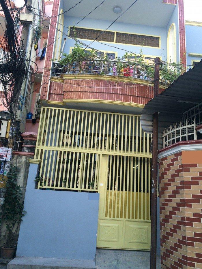 Bán nhà Hẻm 5m Phan Văn Trị, (4,1 x 7m), 1 lầu. Giá 3,55 tỷ (đối diện cityland Emart)