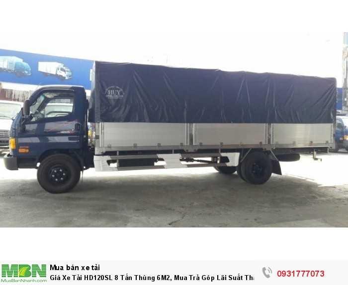 Xe Tải HD120SL 8 Tấn Thùng 6M2 - Đóng thùng theo yêu cầu khách hàng