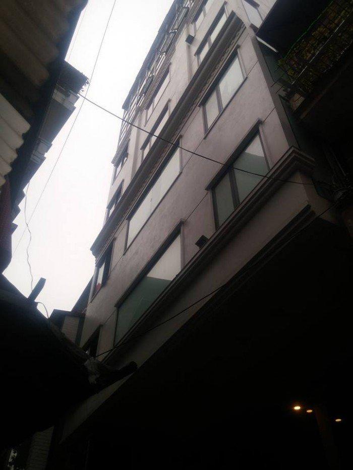 Bán nhà thiết kế đẹp lạ+ 9 tầng phố Khương Trung DT 102m2 , mặt tiền 10.2m, giá 16.6 tỷ