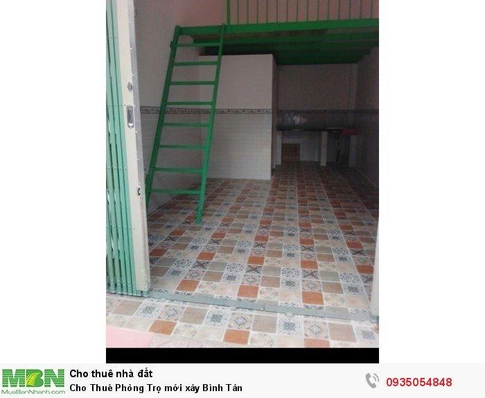 Cho Thuê Phòng Trọ mới xây Bình Tân