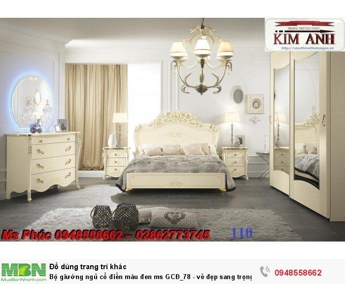 Bộ giường ngủ cổ điển màu đen ms GCĐ_78  - vẻ đẹp sang trọng, đẳng cấp đẹp lạ21